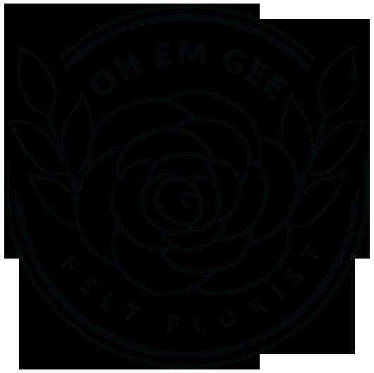 Oh Em Gee – Felt Florist + Decor